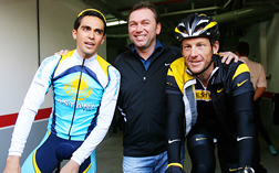 Johan Bruyneel Supports Armstrong's Anti-doping Control