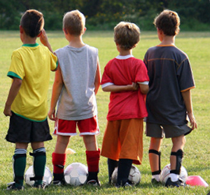 Soccer improves the health standards of growing boys