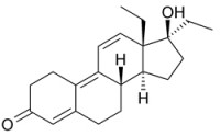 Tetrahydrogestrinone discovered in anonymously provided spent syringe