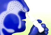 Corticosteroid Nasal spray useful for treating hay fever