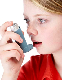 Inhaled steroids for asthma may provide little benefit for some children