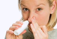 Review finds sinusitis symptoms can be treated with steroid nasal sprays