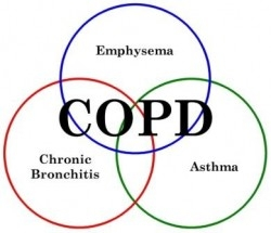 Macrolide antibiotic use can minimize COPD exacerbations