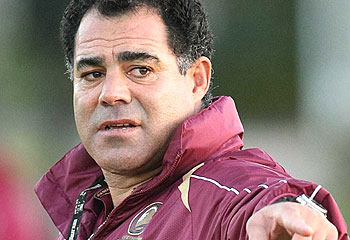 Mal Meninga, the Queensland coach