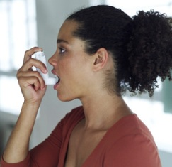 Airway constriction in asthmatic women patients reduces with estrogen