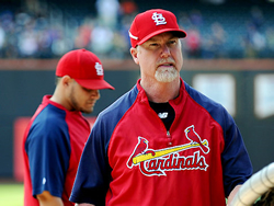 Mark McGwire adamant talking about steroids and A-Rod