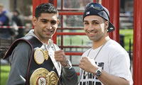 Amir Khan expresses disappointment over steroid comments by Malignaggi