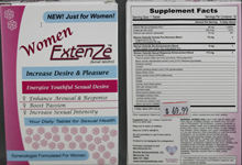 Steroids included in sex enhancement pills