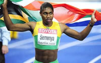 South African runner withdrawn for excess testosterone