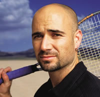 Andre Agassi thinks his memoir is best left closed