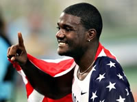 Justin Gatlin has hopes for London 2012