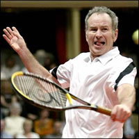 McEnroe admits taking steroids for six years
