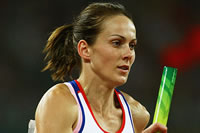 Kelly Sotherton hopes it is all over for Blonska