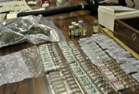 Police officer arrested in anabolic steroids supply investigation
