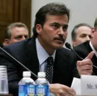 Failed drug test was a mistake, says Palmeiro