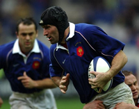 French flanker suspects drug use
