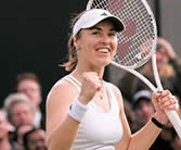 Martina Hingis is fighting hard to wage