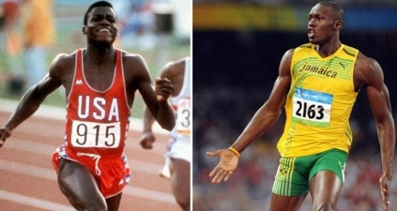 Carl Lewis vs. Usain Bolt