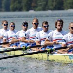 The Men's Eight from Great Britain