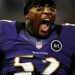 Baltimore Ravens linebacker Ray Lewis 3