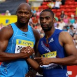 asafa powell tyson gay
