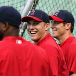Los Angeles Angels mike trout 2
