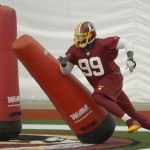 Redskins Defensive End Jarvis Jenkins