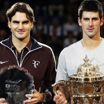 Roger Federer and Novak Djokovic 2
