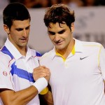 Roger Federer and Novak Djokovic 3