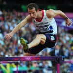 Rhys Williams hurdles