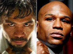 Floyd Mayweather and Manny Pacquiao  3