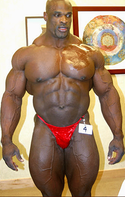 ronnie coleman backstage