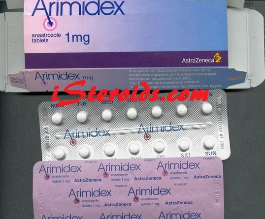 arimidex box