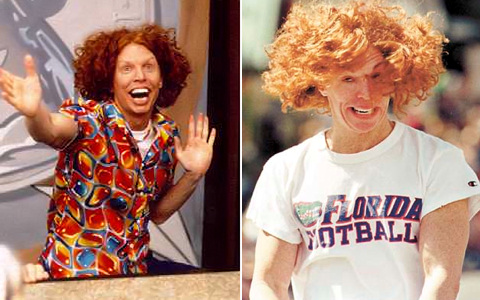 Carrot Top Steroids Before and After